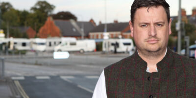Beverley St Mary's councillor, David Boynton has acted swiftly following the encampment of travellers on School Lane car park in Beverley.