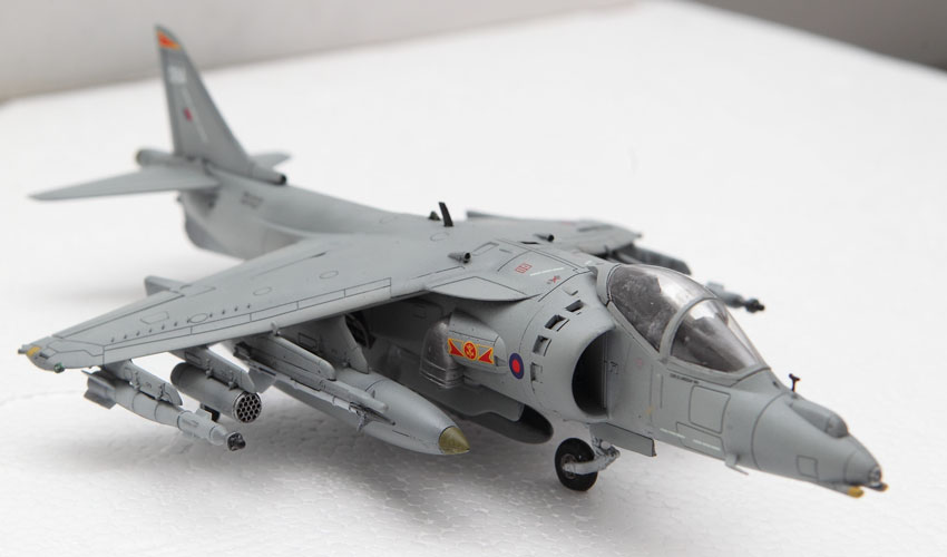 Airfix Harrier GR9 1:72 Build Review and Photos