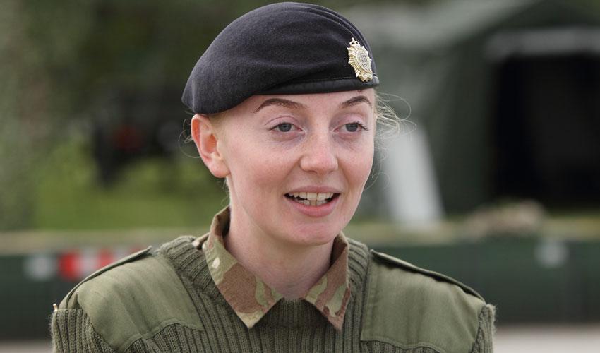 Corporal Faye Bolton