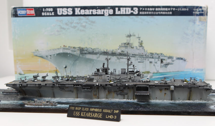 Hobby Boss USS Kearsarge LHD-3 Diorama Build Review and Pictures