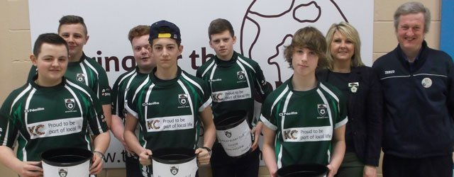 Tesco Shoppers Support Beverley Rugby Union Football Club's Bag Pack