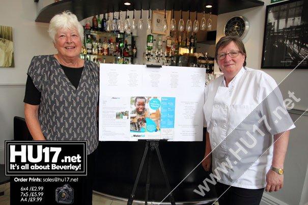 Water Aid Fund Raising Dinner at Cerutti Restaurant