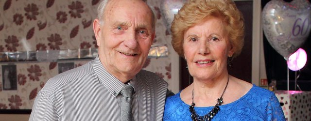 OUT & ABOUT : Jean & Peter Murrell 60th Wedding Anniversary