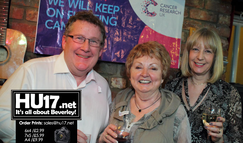 OUT & ABOUT : Cancer Research Night @ The Sun Inn