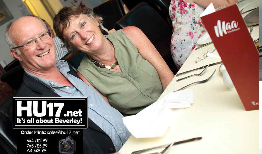 OUT & ABOUT : Wilf Fowler's Retirement @ Maa Indian Restaurant