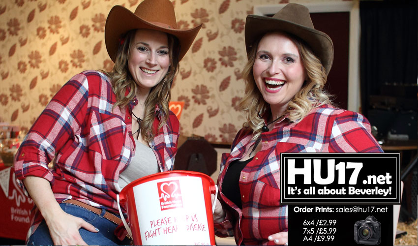 OUT & ABOUT : Barn Dance Raises Money For British Heart Foundation