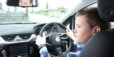 Drivers As Young As Ten Can Get Behind The Wheel This Half Term