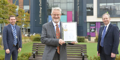 College First In North To Gain Gold Status In Forces-Friendly Scheme