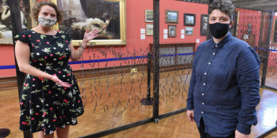 Sculpture At Art Gallery Celebrates The History Of Beverley Shipyard