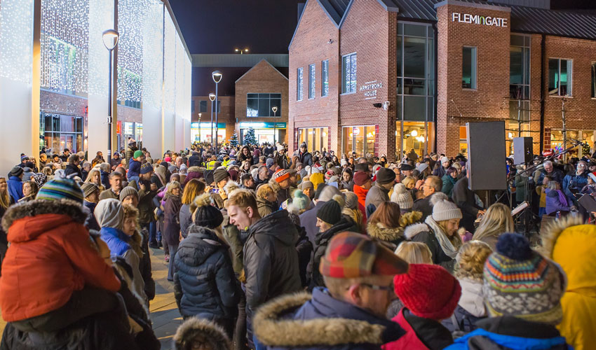Flemingate To Kickstart Christmas With Action-packed Evening Of Entertainment