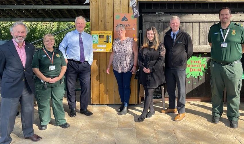 CADEY Aims For A Defibrillator In Every Local Rural Community
